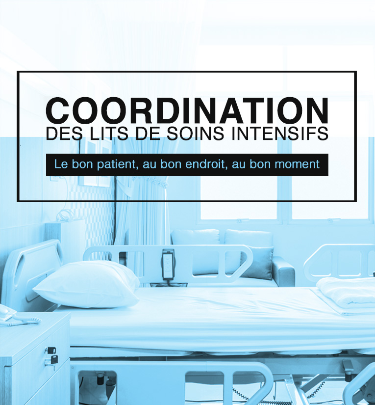 Centre d'optimisation occupation des lits de soins intensifs COOLSI
